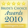 Brides Choice 2010 Badge